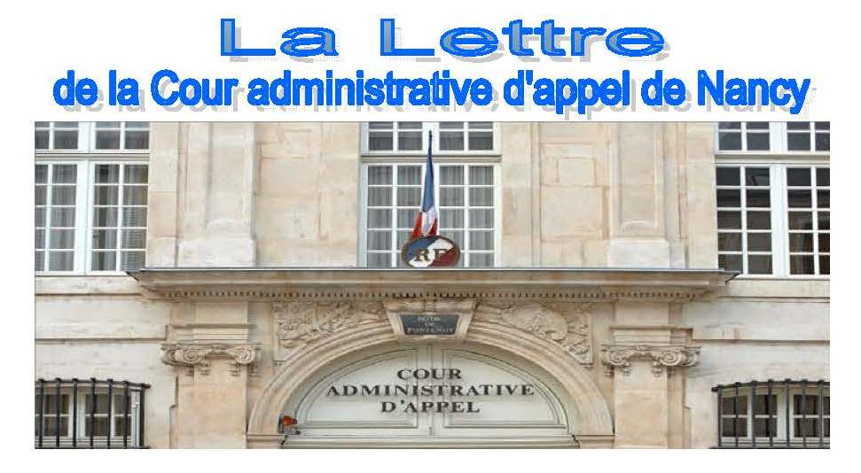 lettre CAA